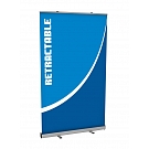 "Mosquito 47.25""W Retractable Banner Stand"