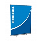 "Mosquito 59""W Retractable Banner Stand"