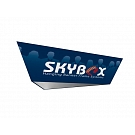 "Skybox Tapered Triangle 15' x 60"" Hanging Banner"