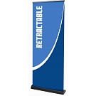 "Orient 31.5""W Retractable Banner Stand"