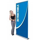 """Orient 39.25""""W Retractable Banner Stand"""