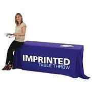 Imprinted Vinyl Table Throws