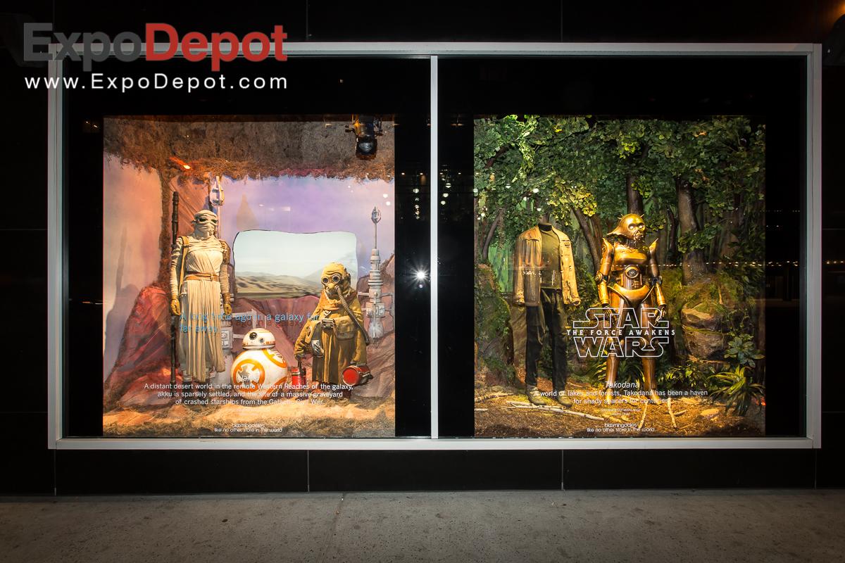 Star Wars Bloomingdales NY Display
